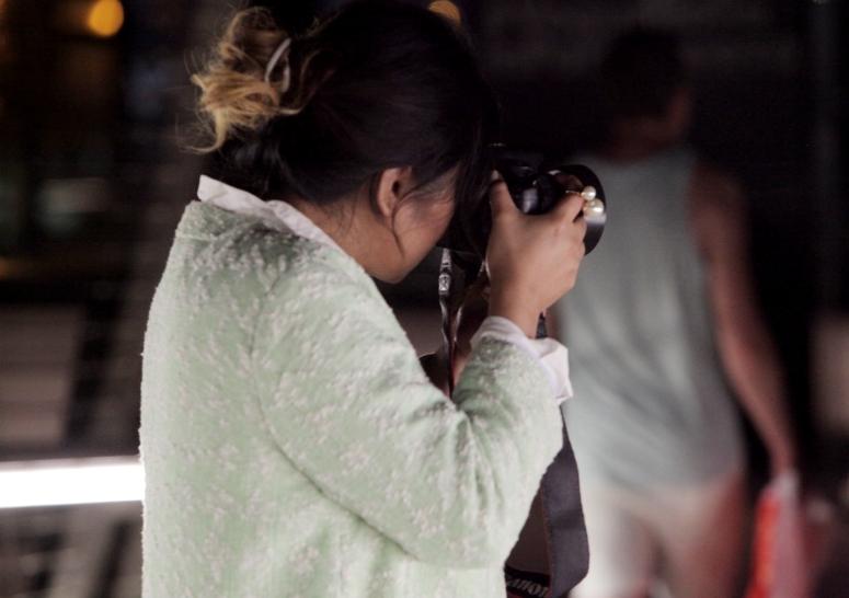 street photographers in milan
