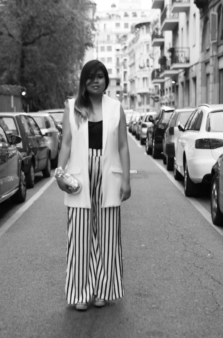 Zara oversized pants