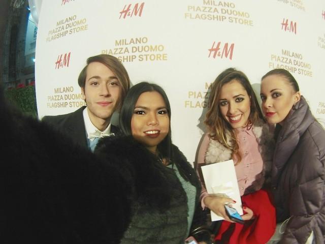 h&m milano piazza duomo flagship store opening 10