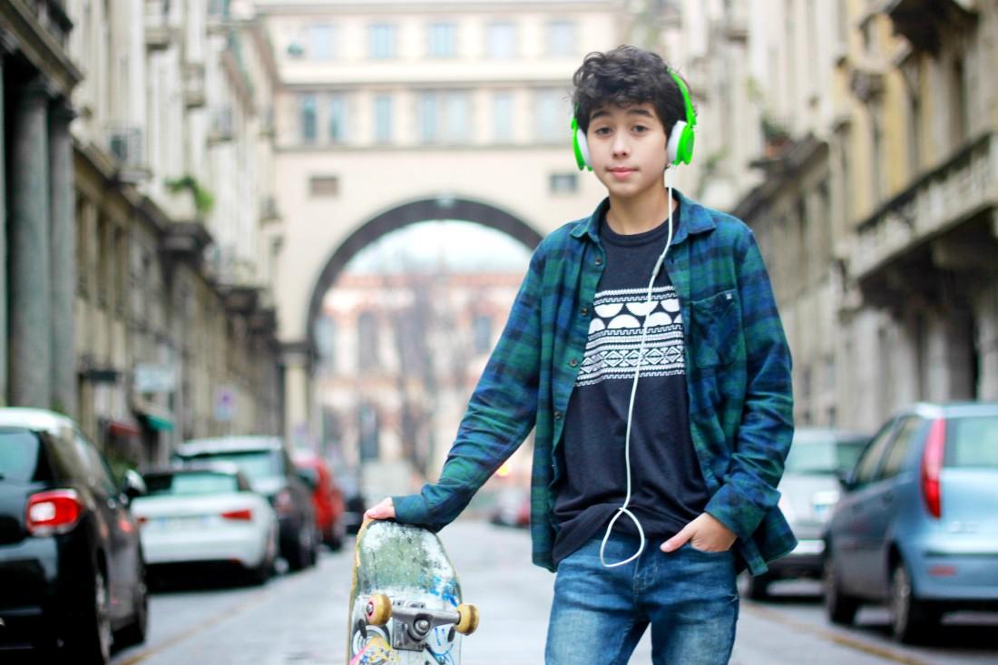 model bambino milan 3