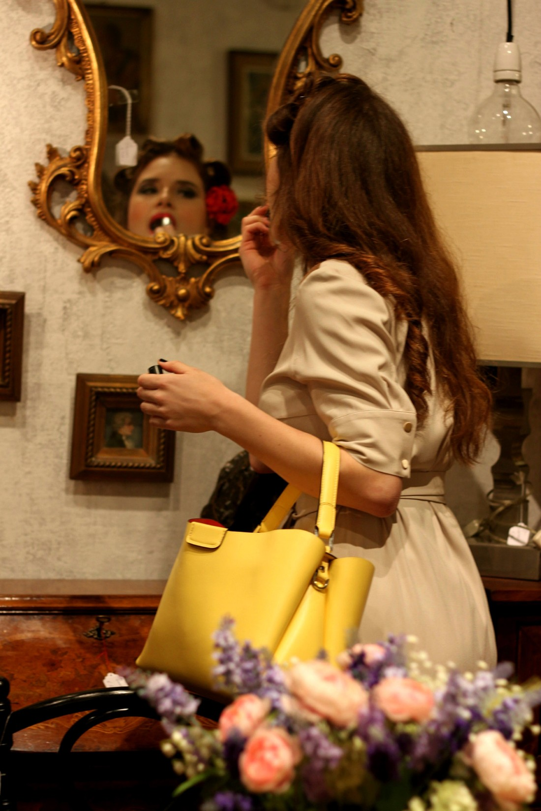 gianni chiarini bag ss15 YELLOW
