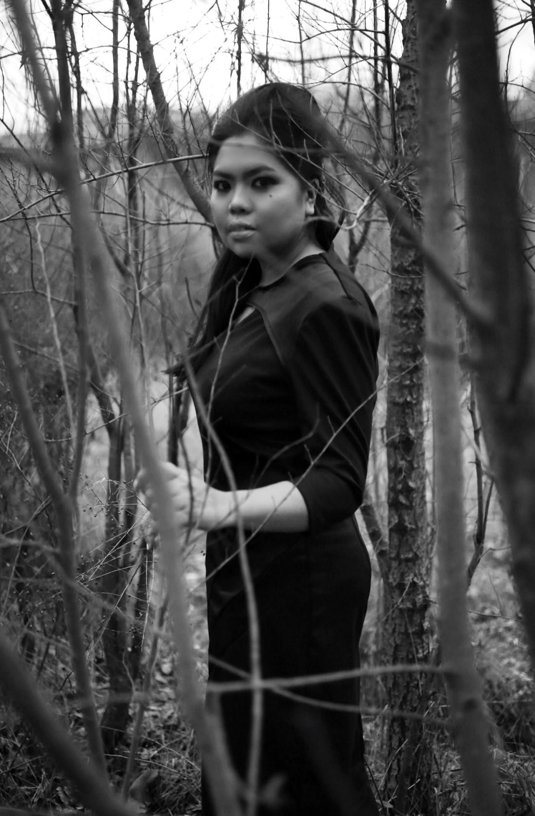 little black dress by rosaly escueta x federico boschetto