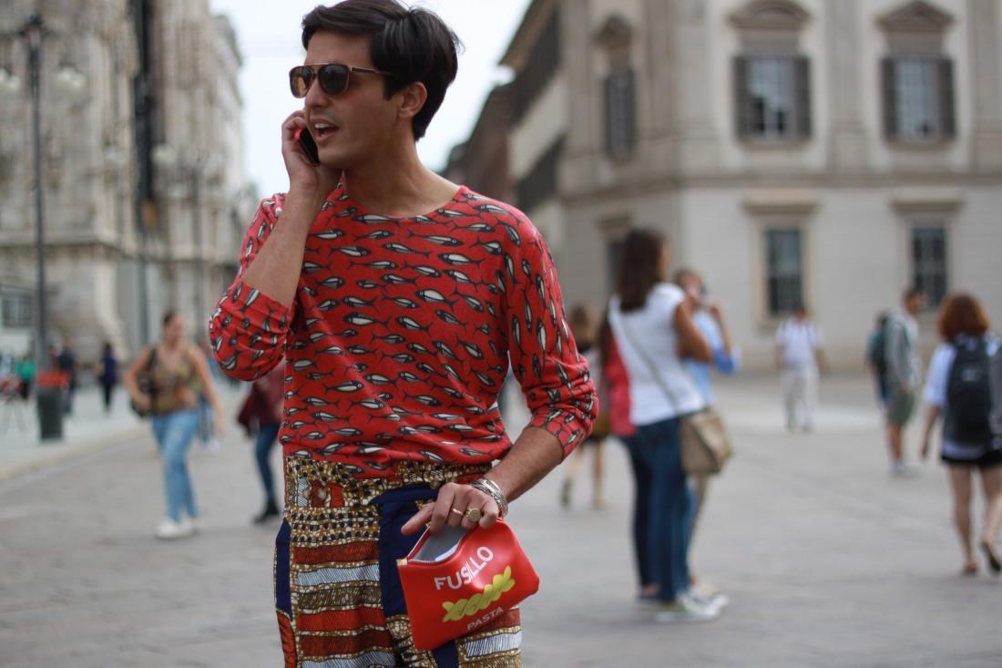 PITTI UOMO streetstyle outfit