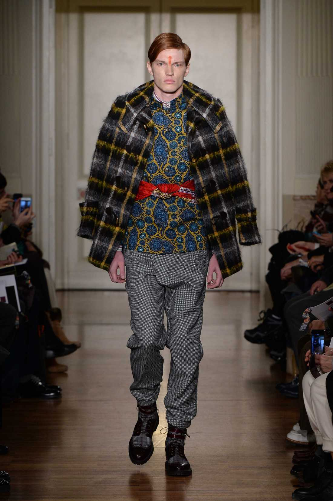 Stella Jean Men FW 2015 16 fashion show (1)