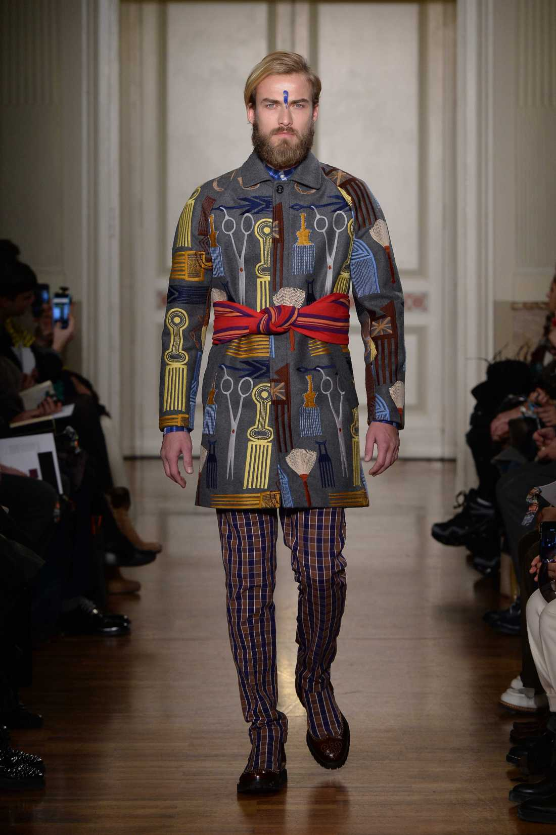 Stella Jean Men FW 2015 16 fashion show (2)