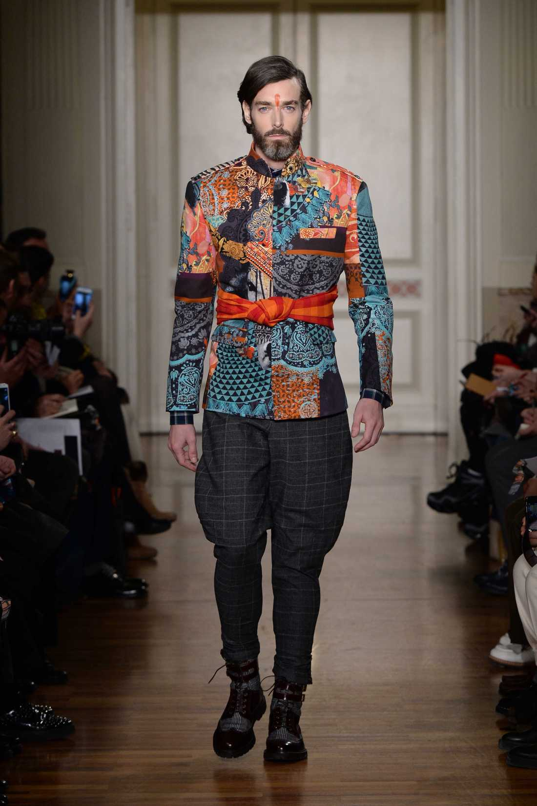 Stella Jean Men FW 2015 16 fashion show (4)