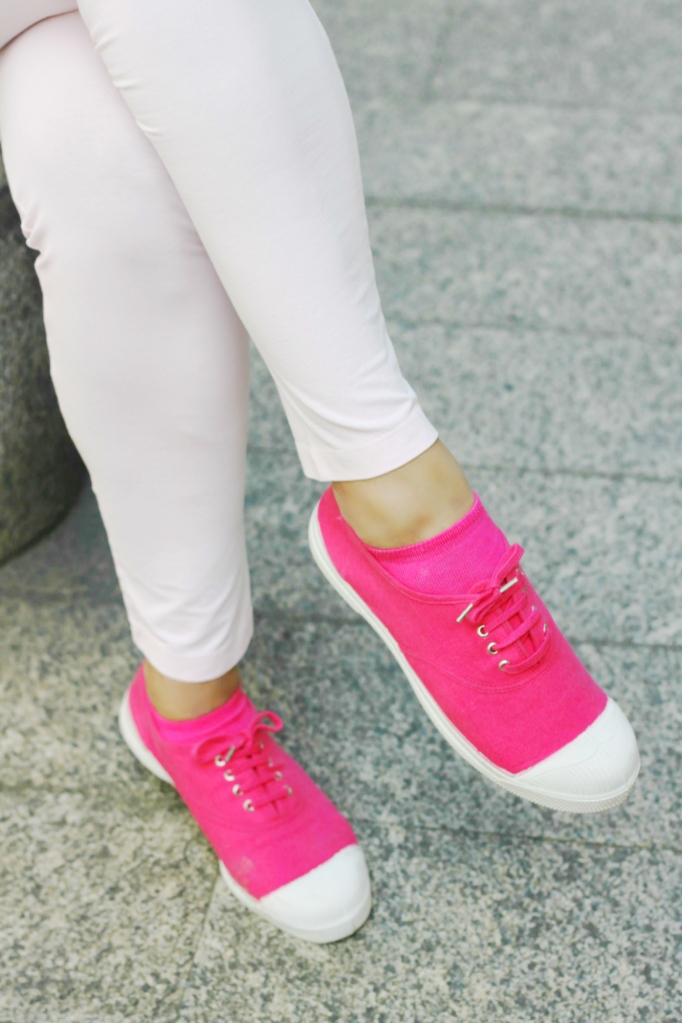 Bensimon sneakers  and Dimenzione Danza leggings