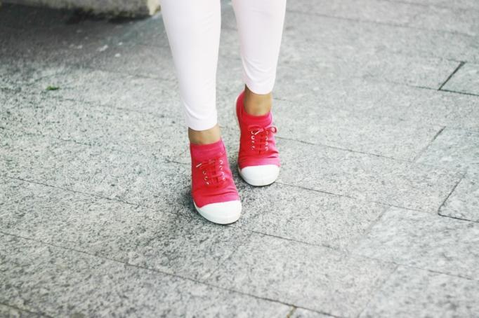 Bensimon sneakers fucshia