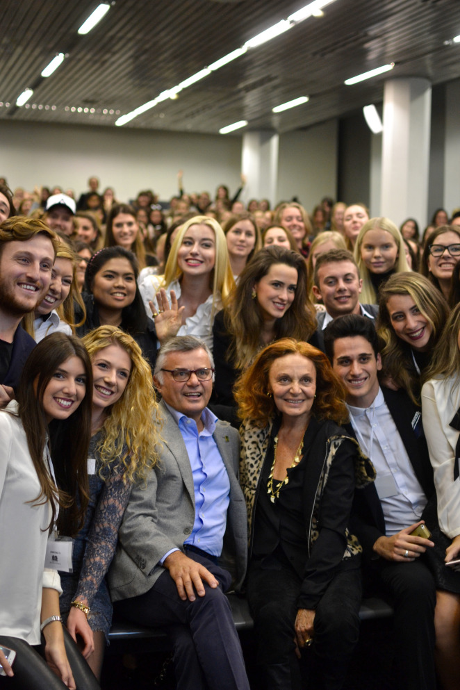 dvf with bocconi students