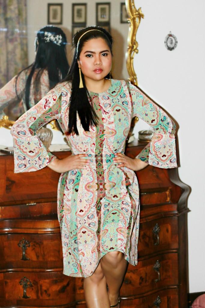 kaos aw15 dress