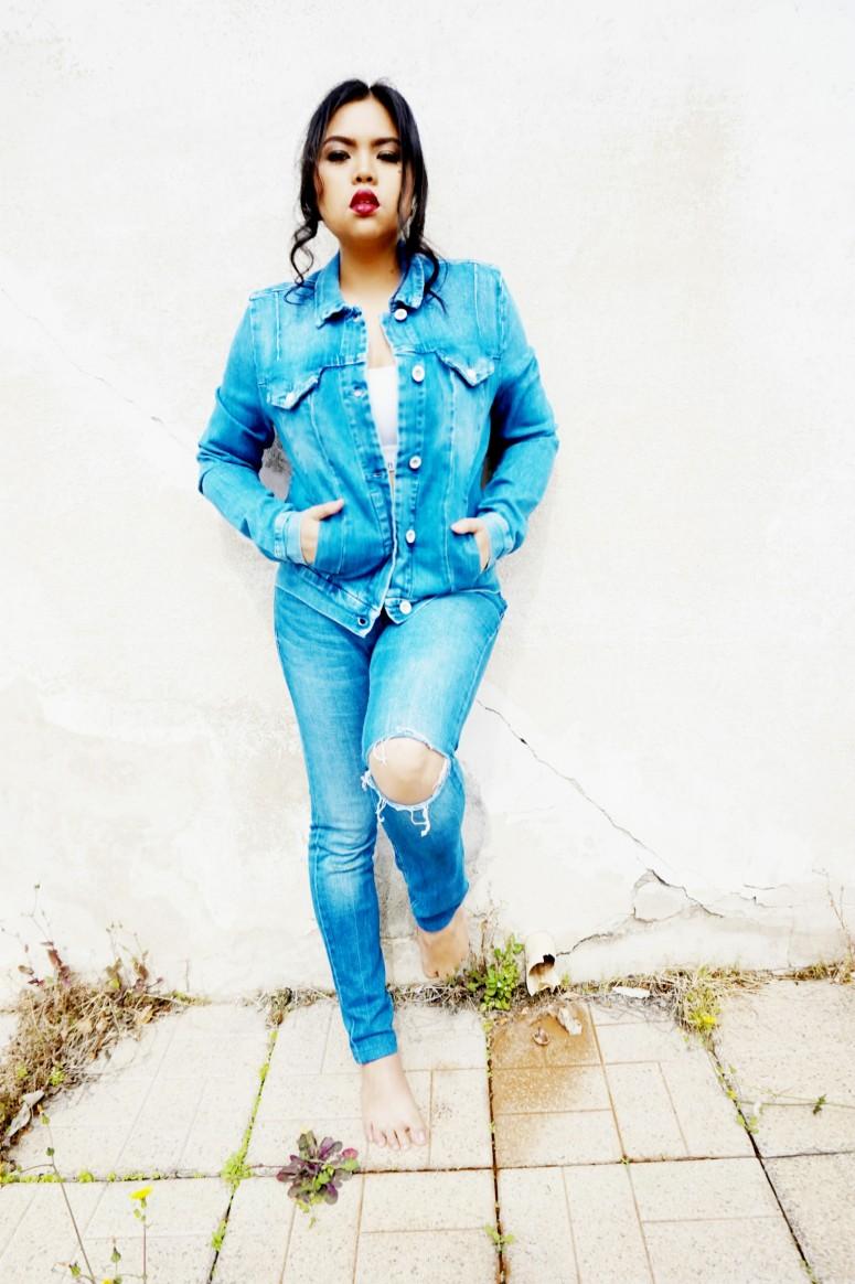 CK jeans jacket and denim